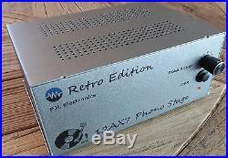Retro Phono Stage All tube Phono Preamp with feedback RIAA EQ