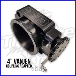 Ross Machine Racing 90mm Throttle Body with 4 Vanjen Coupling Adapter Inlet