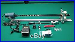 SHARPSHOOTER POOL CUE TIP LATHE INCLUDES HOW TO MANUAL for all kinds of repairs