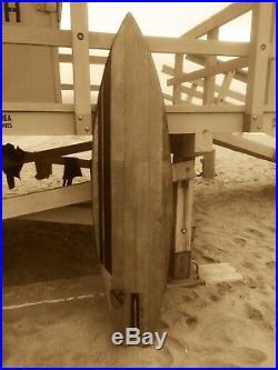 SURFBOARD ALL WOOD WEBSTER ORIGINAL Vietnam 1st Calvary- Charlie Don't Surf