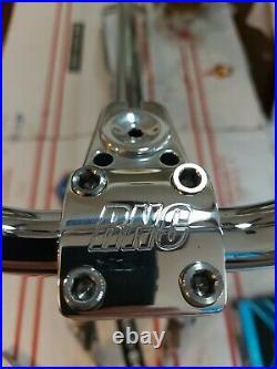 S&M CHROME BMX BIKE 20 USA MADE CUSTOM ALL BEST S&M FIT RNC cranks full polish