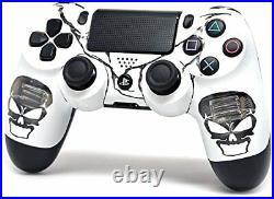 Skulls Blue PS4 PRO 40 MODS Modded Controller for All Major Shooter Games COD