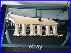 Sleeper Designs ALL Billet 2JZGTE Intake Manifold withThrottle Body and Fuel Rail