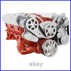 Small Block Chevy All Inclusive Serpentine with Saginaw Pump SBC 283 327 350 400