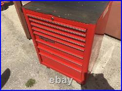 Snap On, tool box, roll cab, 8 drawer Canadian Made With Key All Working