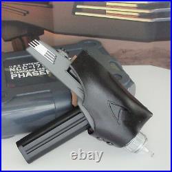 Star Trek TOS Leather Phaser Holster, Wand, Playmates Assault, P2 Midgrade, All