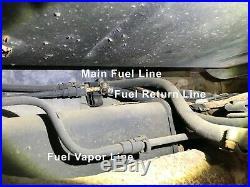 Steel Fuel Return Vapor Line Kit 99-03 Chevrolet Silverado / GMC Sierra OEM