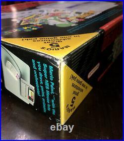 Super Nintendo Game System SNES Console Super Mario All Stars Brand New NIB