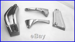 Suzuki M109 Chrome look 4 part Frame Cover. Fits all years M109 M109R