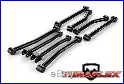 TeraFlex Sport 8 FlexArm Control Arm Kit For 2.5-3 Lift 07-18 Jeep Wrangler JK