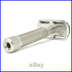 The Rex Envoy All Stainless Steel Double Edge Safety Razor 2020 Model