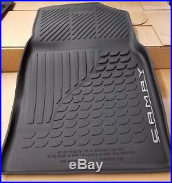 Toyota Camry 2018 All Weather Rubber Floor Liner Mat Set OEM NEW