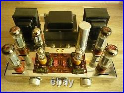 Tube amplifier Dynaco Dynakit ST-70. All tubes are new