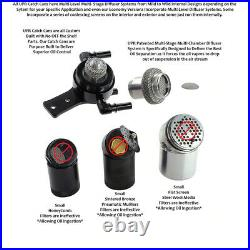 UPR Plug n Play Catch Can Oil For all 11-21 F150 Ecoboost 2.7 3.5 5.0 6.2 Black