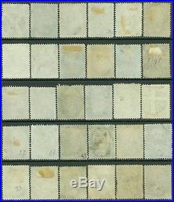 USA 1863. Scott #73 Beautiful study of 30 stamps. All seem SOUND. Cat $1950