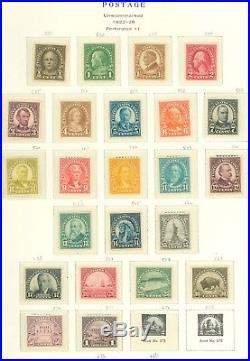 US SCOTT #551//571 Short Set, Many VF/XF, #571 NH, SCV $365, All on Page! Great
