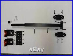 UTV Side By Side Golf Cart Gun Rack Fits ALL Models and Years Adjustable Height
