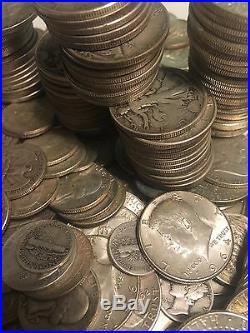 U. S. A. All Pre 1965 Scrap 90% Silver Sale $10 Face Lots! 24hr Sale