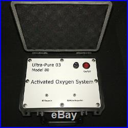 Ultra-Pure 80 medical grade ozone with all the needed accessories ie. CGA-540
