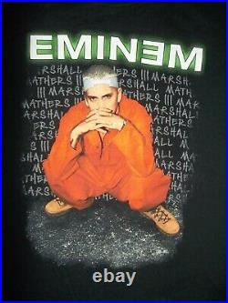 VINTAGEEminem Criminal 2000 Tour ALL SPORT T Shirt Size XL (48)NEVER WORN