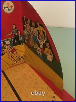 Vintage! 1950's Marx Toys All Star Basketball Tin Game Mark-O-Matic with BALLS