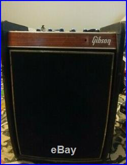 Vintage 1969 Gibson Duo-Medalist 25 Watts All Tube Combo Amp! Eminence Legend