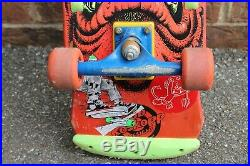 Vintage 1980s Skateboard-Santa Cruz Rob Roskopp Venture/G&S Bam Bam ALL ORIGINAL