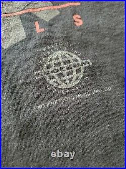 Vintage 1993 Pink Floyd Animals All Over Print T Shirt Size Large Brockum