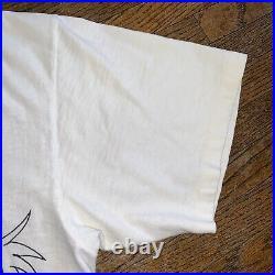 Vintage 80s Cruella De Vil 101 Dalmatians All Over Print T Shirt Men Size XL