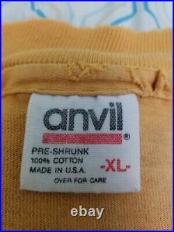Vintage 90s 1993 Brockum Prince All Over Print T Shirt Gold Band Tee XL