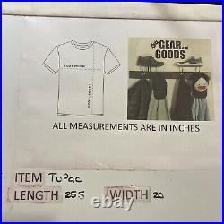 Vintage Bootleg Rare Tupac Rap Tee T Shirt All Eyes On 2pac Sz Large L Graphic