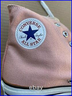 Vintage Converse Men's Shoes Made in USA All Star Chuck Taylor High Tops 10.5