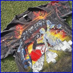 Vintage Metallica All Over Print AOP Shirt Brockum 90s (XL X-Large)