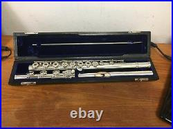 Vintage Powell Hand-made Flute, 14k Solid Gold Lip, All New Pads, Soldered T-holes
