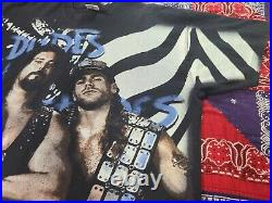 Vtg 90s WWF Wrestling Diesel SHawn Michaels AOP All Over Print Rare t shirt