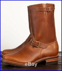 WESCO VINTAGE 7500 Engineer 10 Motorcycle boot British Tan Seidel ALL SIZES