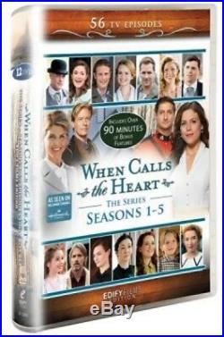 WHEN CALLS THE HEART Seasons 1-5 All COMPLETE Season 1 2 3 4 5 Hallmark Series