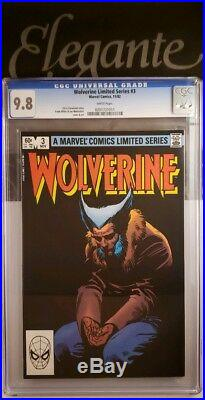 WOLVERINE limited series #1-4 ALL CGC 9.8 NM/MT FRANK MILLER