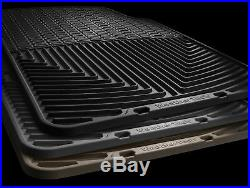 WeatherTech All-Weather Floor Mats for Honda Odyssey 2005-2010 1st 2nd 3rd Tan