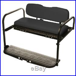 Yamaha G14, G16, G19 22 Golf Cart ALL AMERICAN Rear Flip Back Seat Kit- ATP DECK