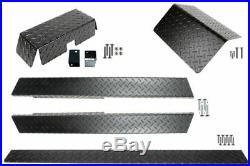 Yamaha G14 G16 G19 G22 Golf Cart ALL AMERICAN Black Diamond Plate Accessory Kit