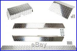Yamaha G14, G16, G19, G22 Golf Cart ALL AMERICAN Diamond Plate Accessories Kit